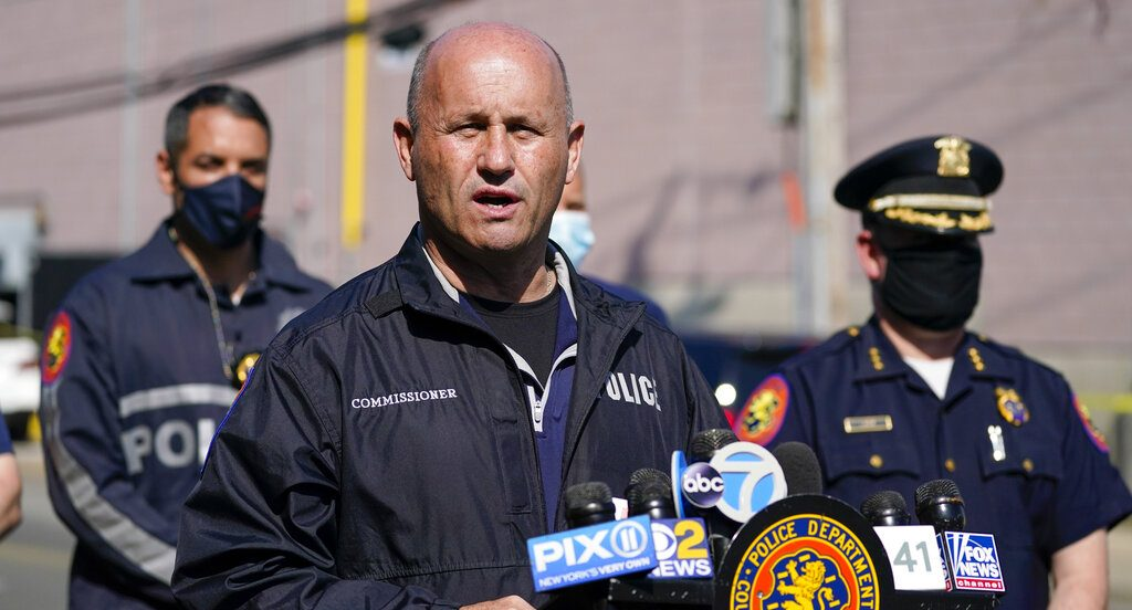 Nassau County Police Commissioner Patrick Ryder