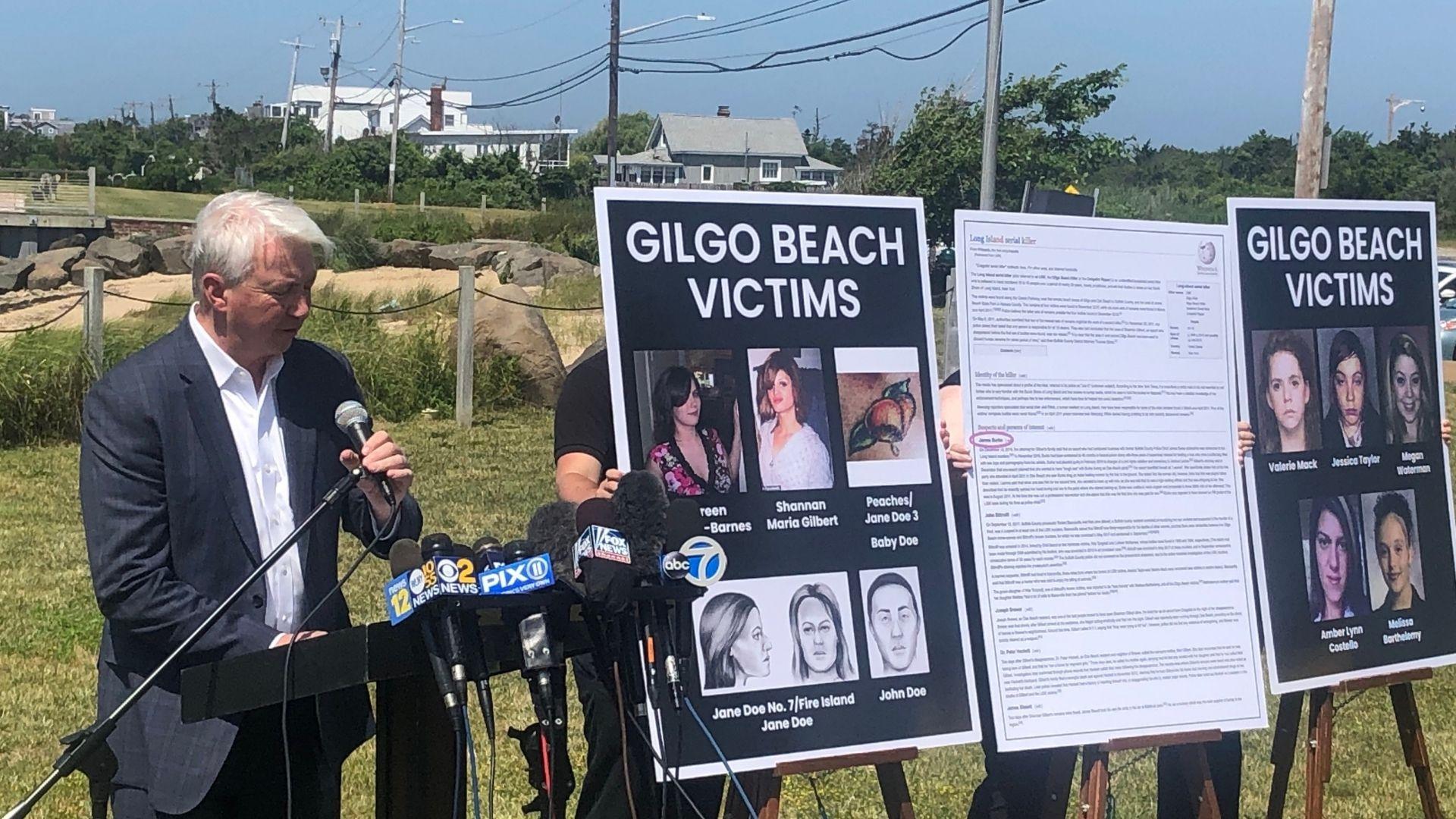 Gilgo beach serial killer investigation