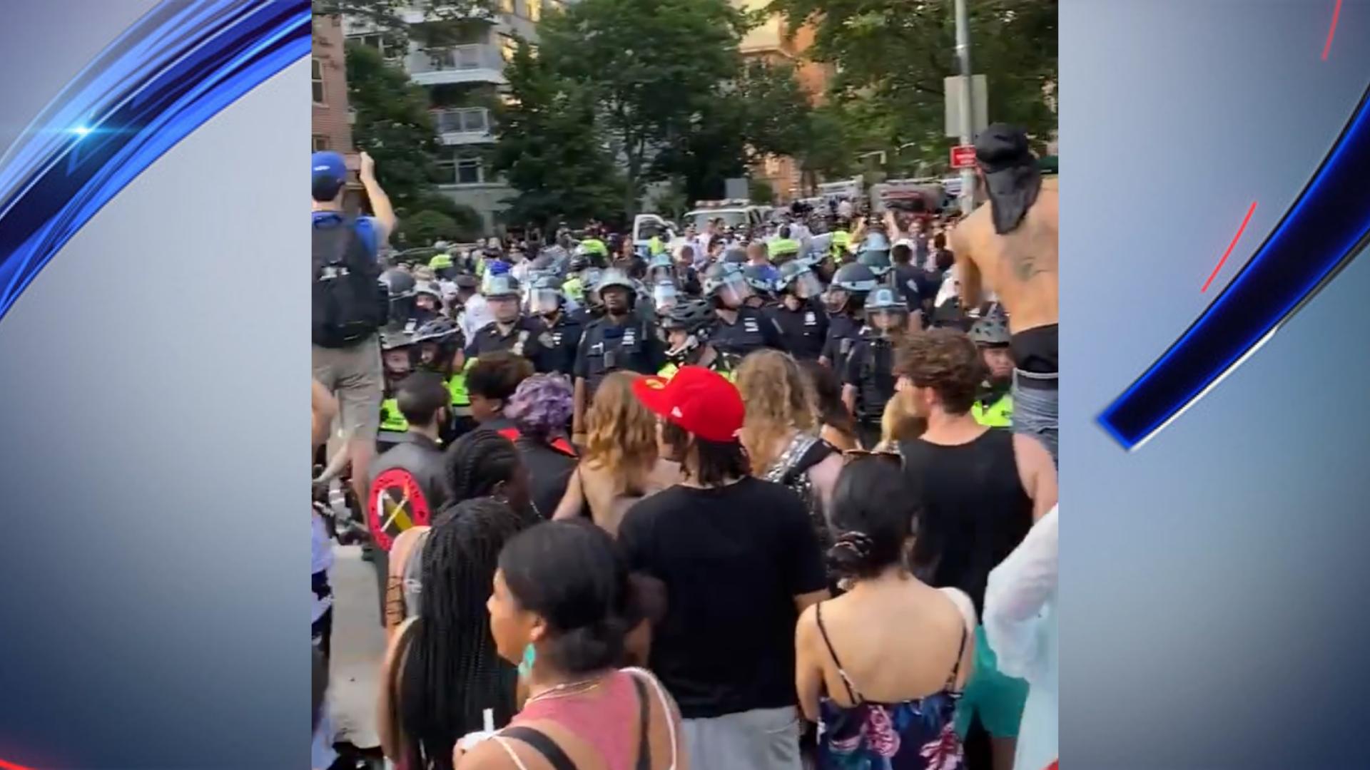 Police presence at Pride celebrations