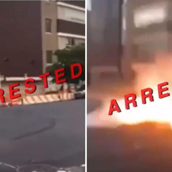 illegal fireworks arrest manhattan