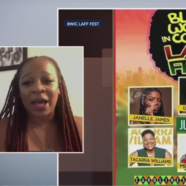 Black Women in Comedy Laff Fest interview
