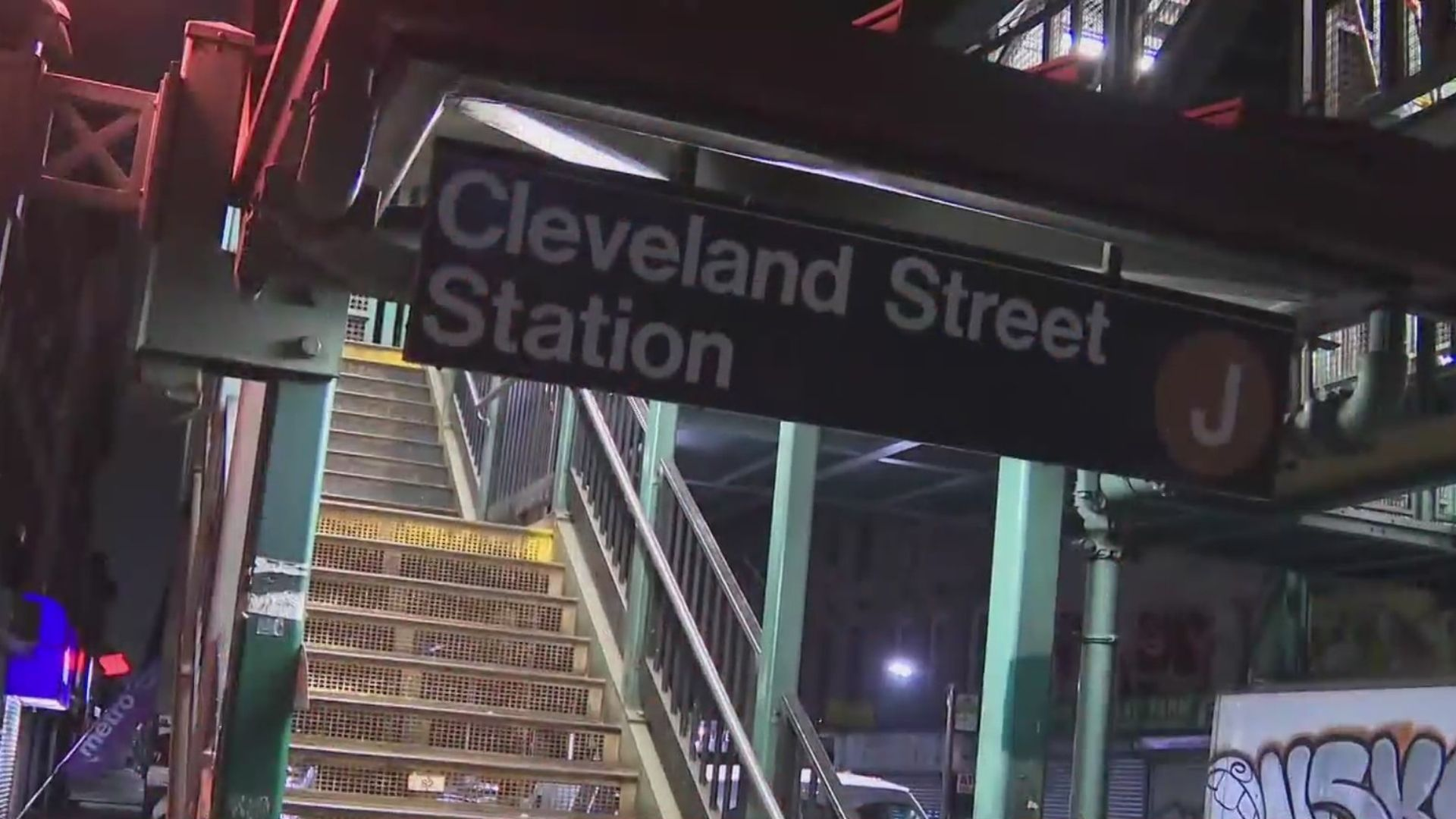 Cleveland Street subway station in Brookyn