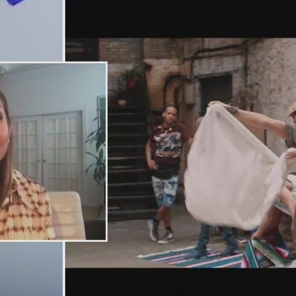 """Actress Daphne Rubin-Vega talks about """"In The Heights"""" on the PIX11 Morning News"""