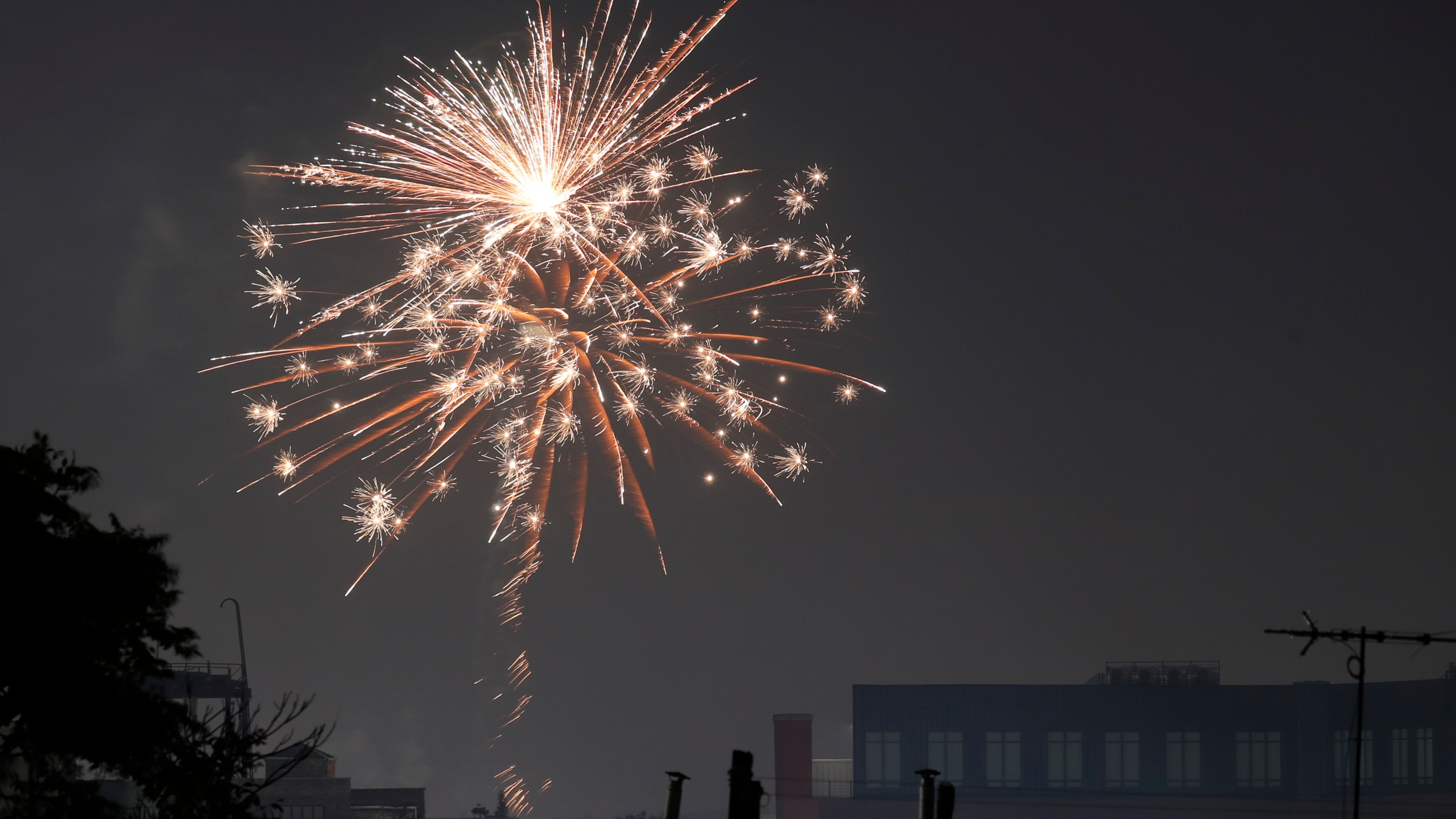 Fireworks in NYC