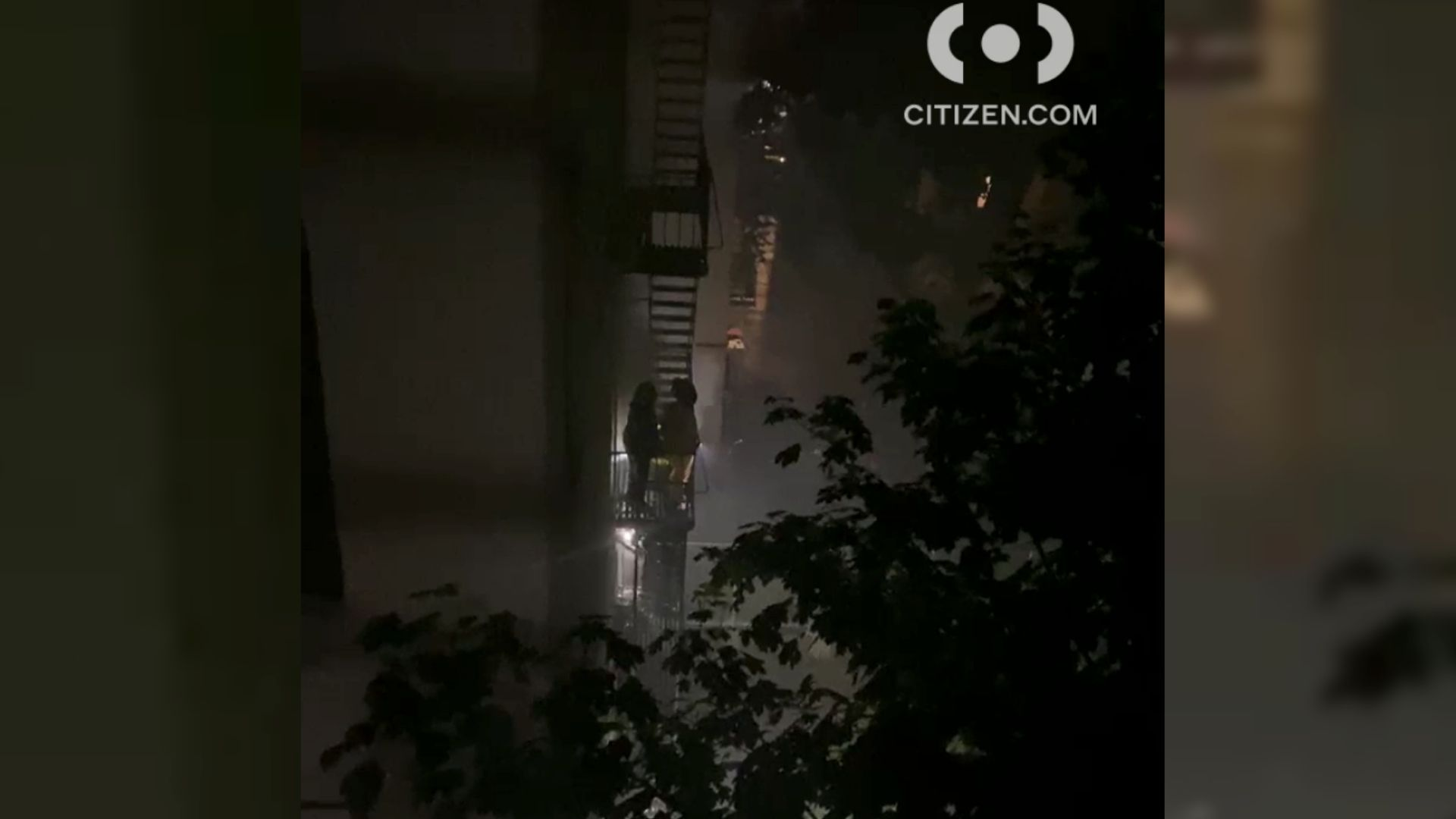 Bronx apartment fire in the Fordham Heights area
