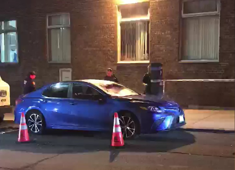 Queens hit-and-run vehicle