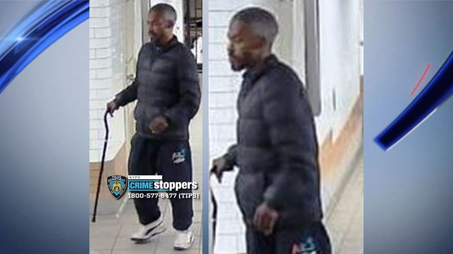 Man accused of hitting a woman with a cane at a Manhattan subway station