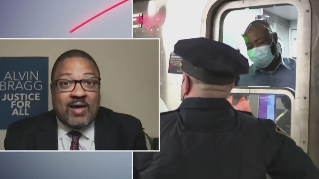 Manhattan DA frontrunner Alvin Bragg on crime, working with NYPD, Trump probe