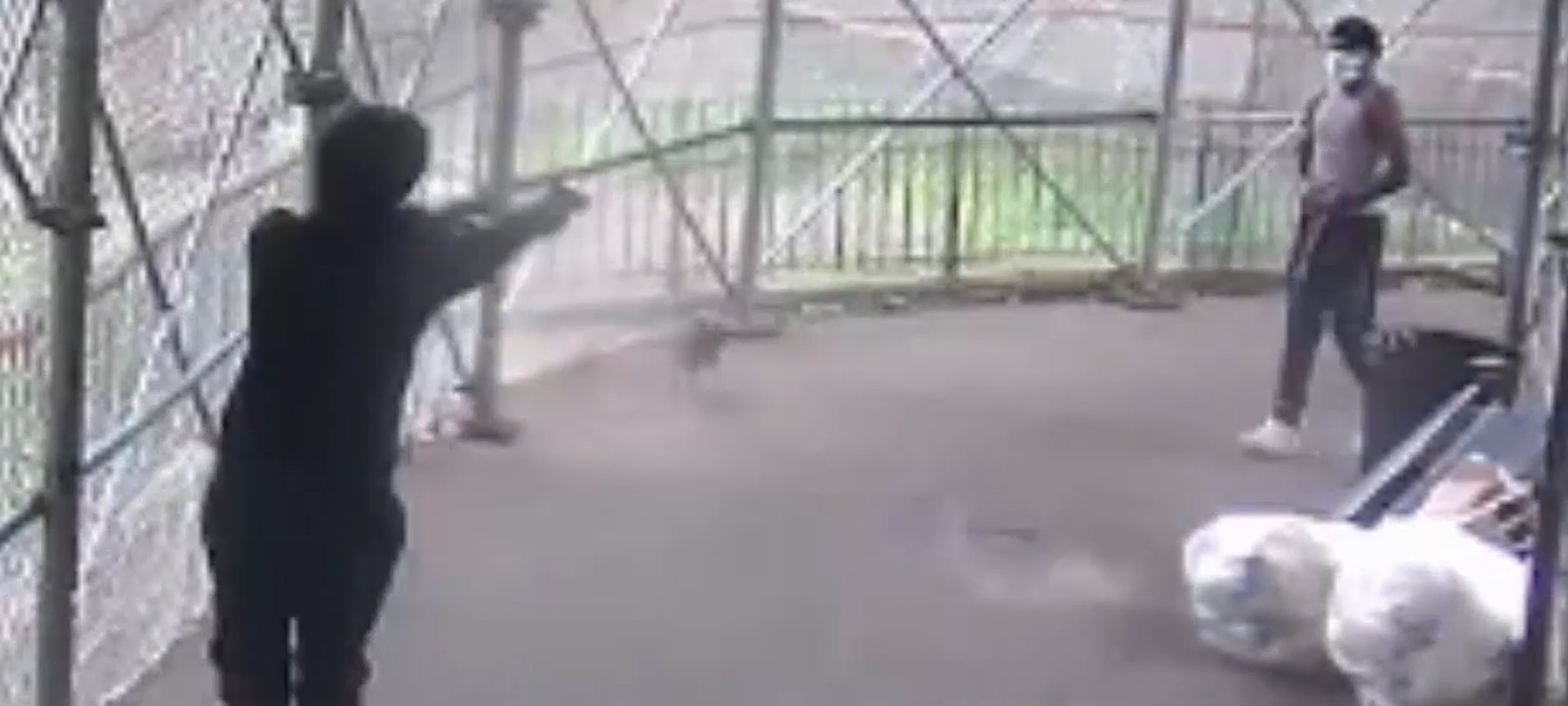 manhattan stoop shooting suspect