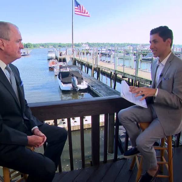 NJ Gov. Murphy PIX on Politics