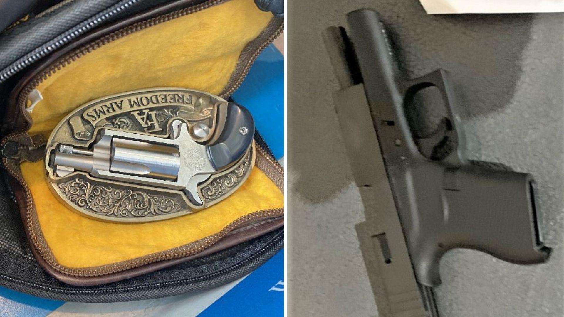 newark airport guns