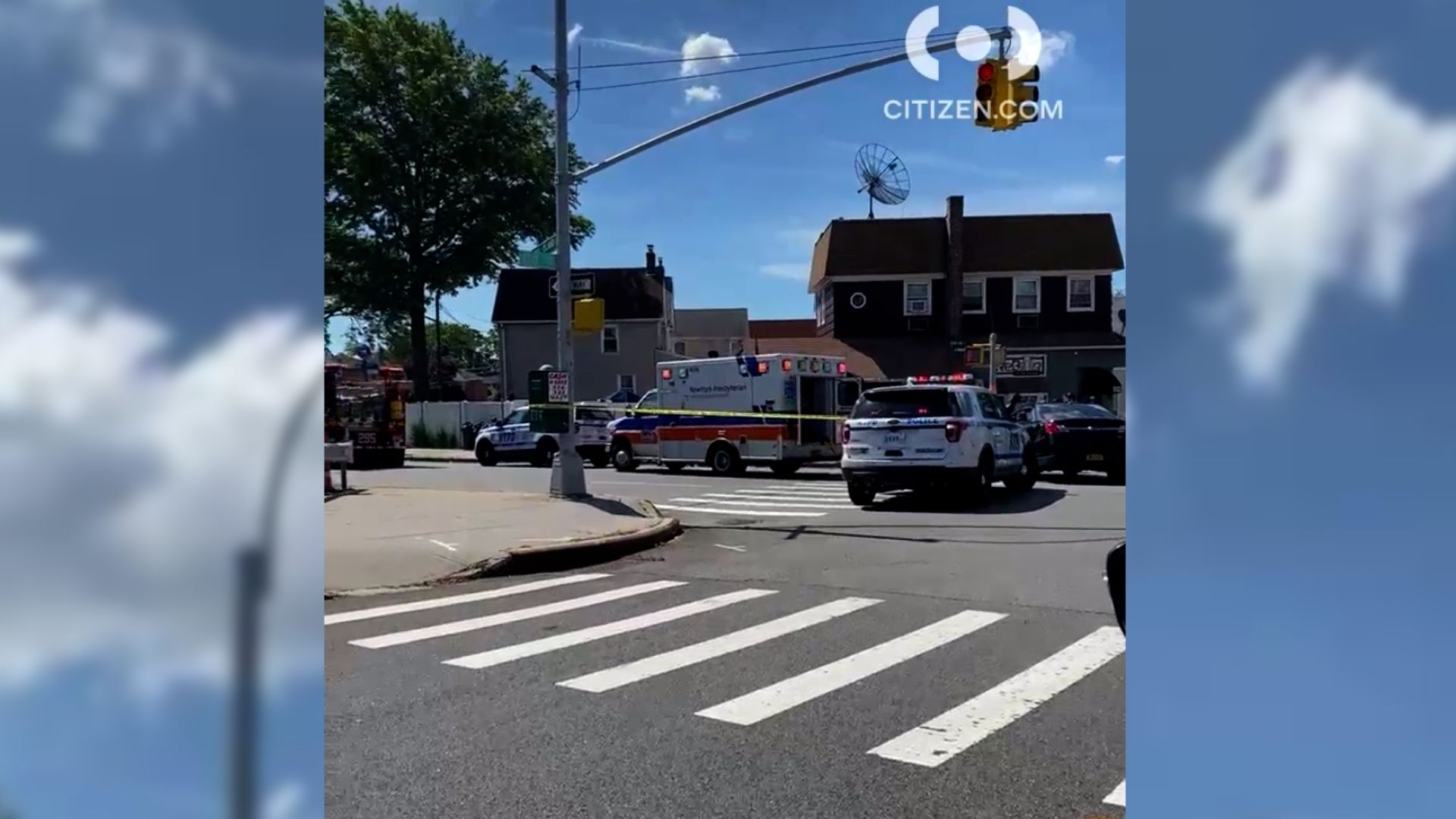 Mother, child struck by truck in Queens