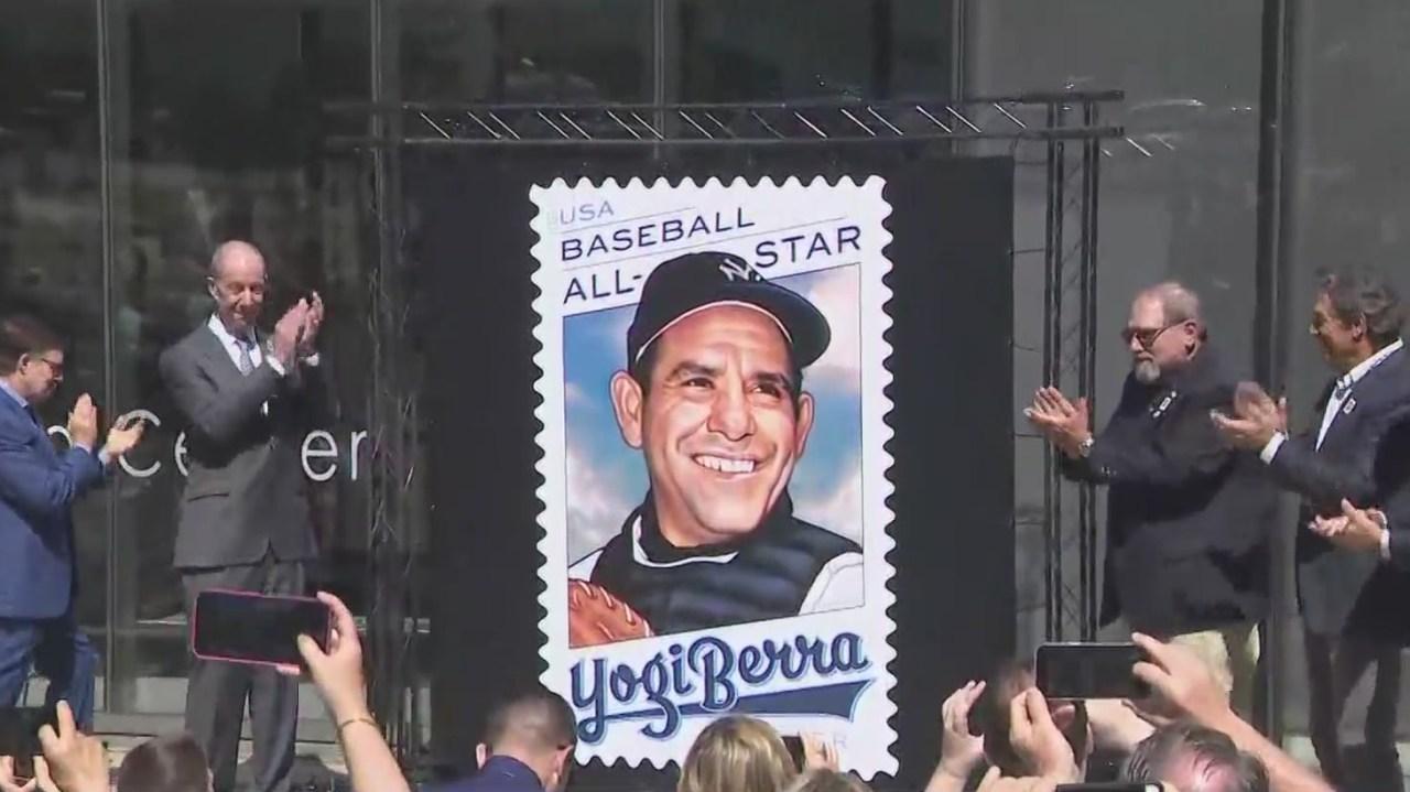 USPS honors Yankees great Yogi Berra with commemorative forever stamp