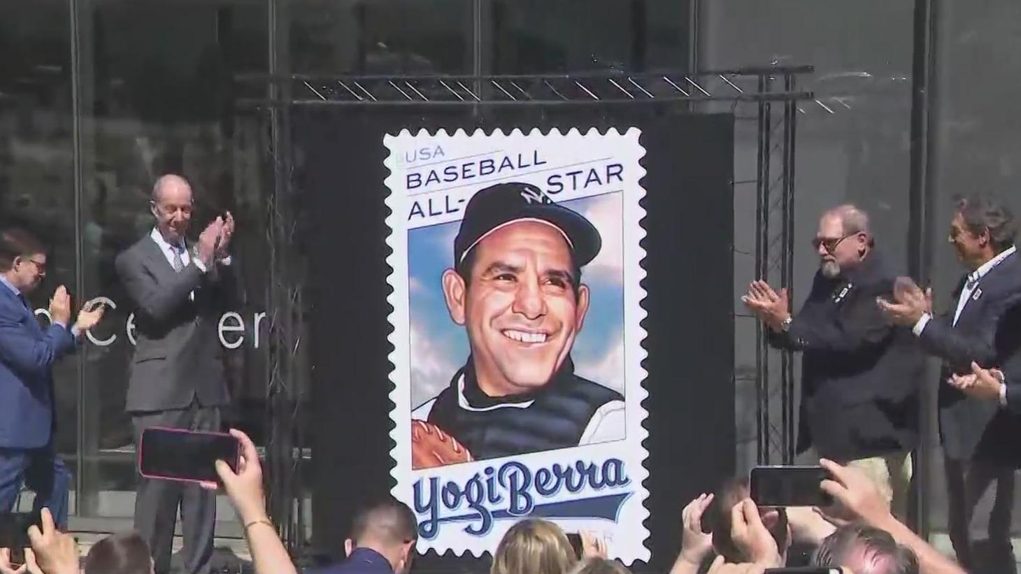 Yogi Berra USPS stamp unveiled