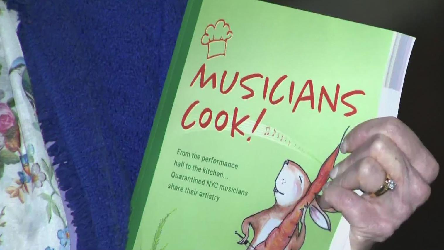 Musicians cook cookbook
