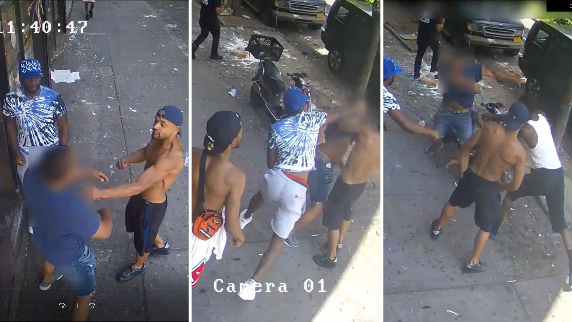 Trio assaults off-duty NYPD officer in the Bronx