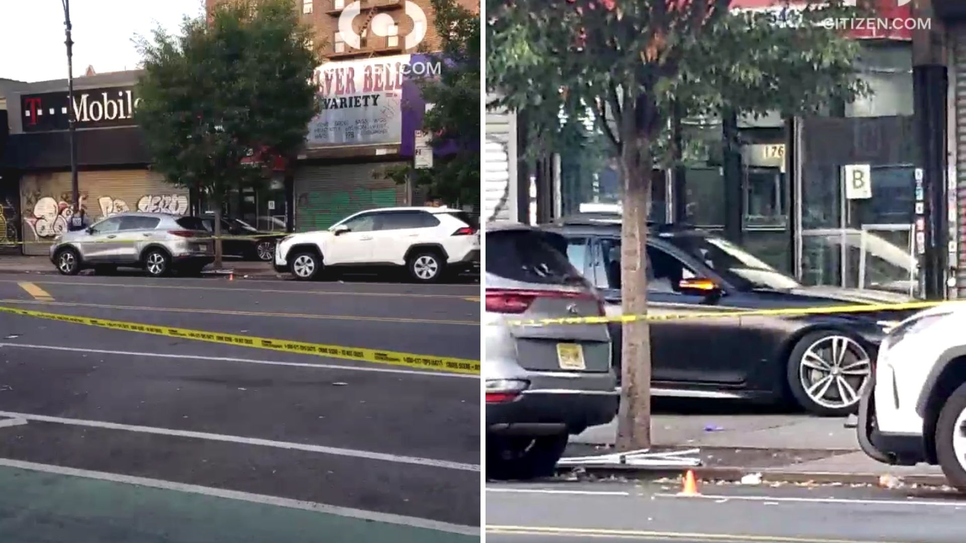 BMW rolls onto Washington Heights sidewalk after driver shot in head: police