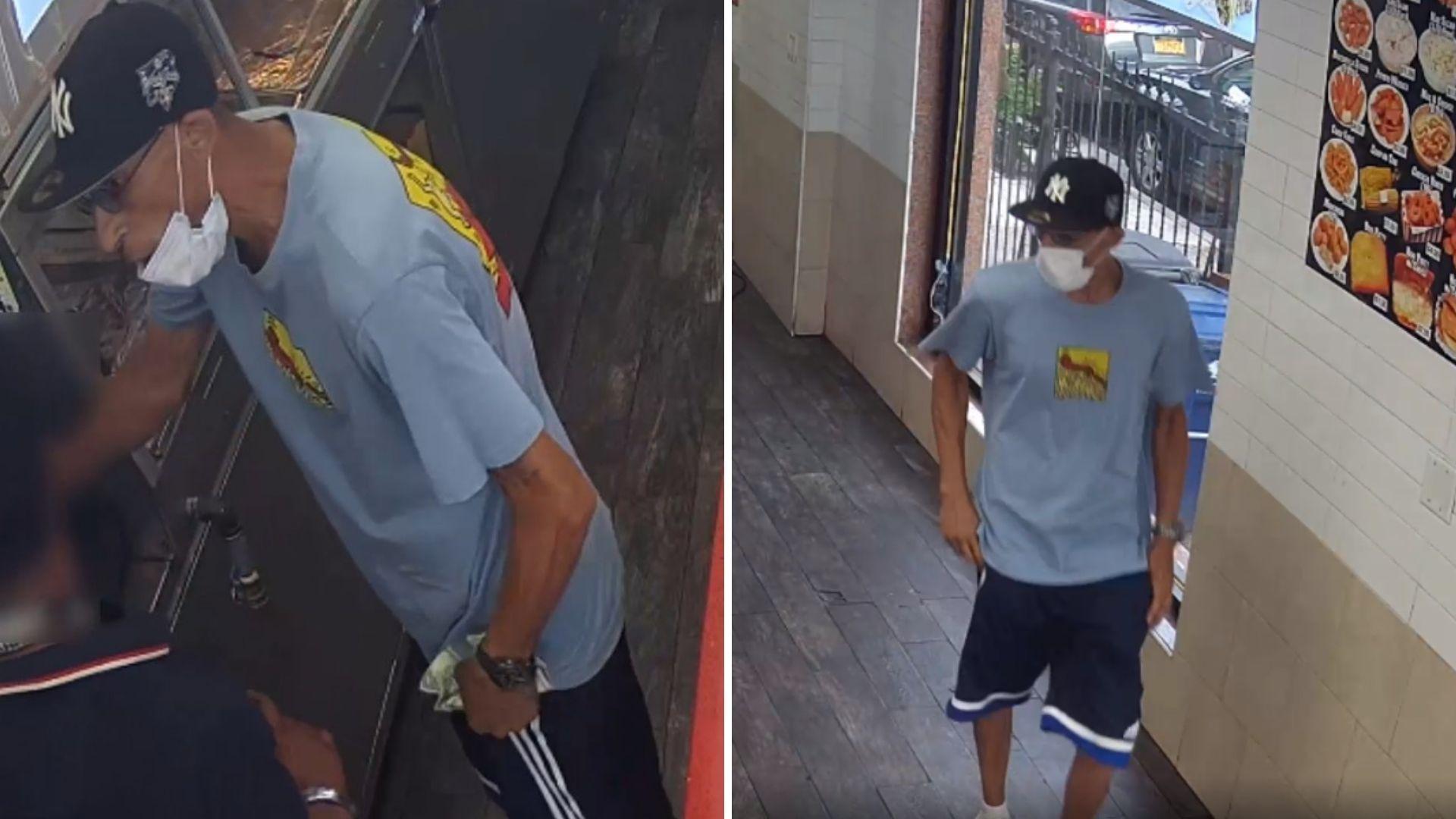 BK fried chicken store robbery
