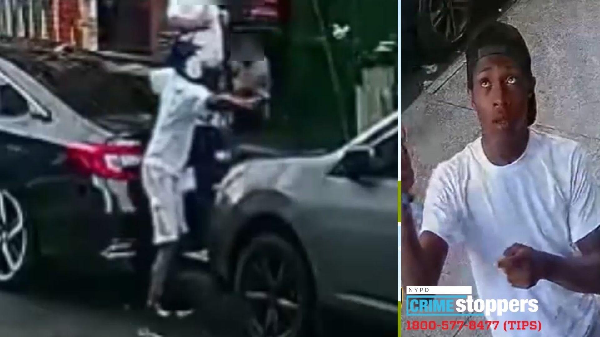 Harlem street shooting