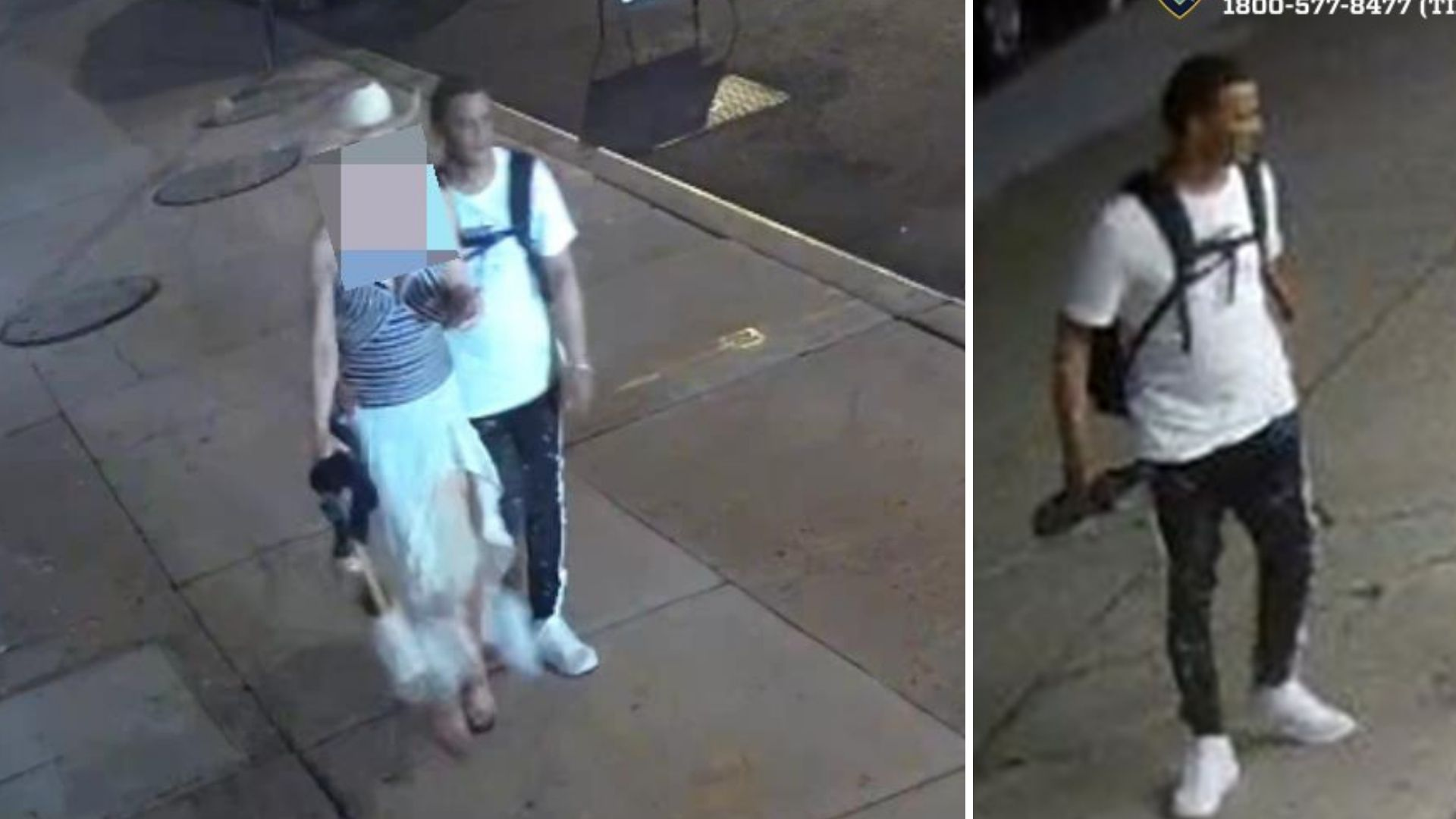 Tourist forcibly touched, robbed in Manhattan