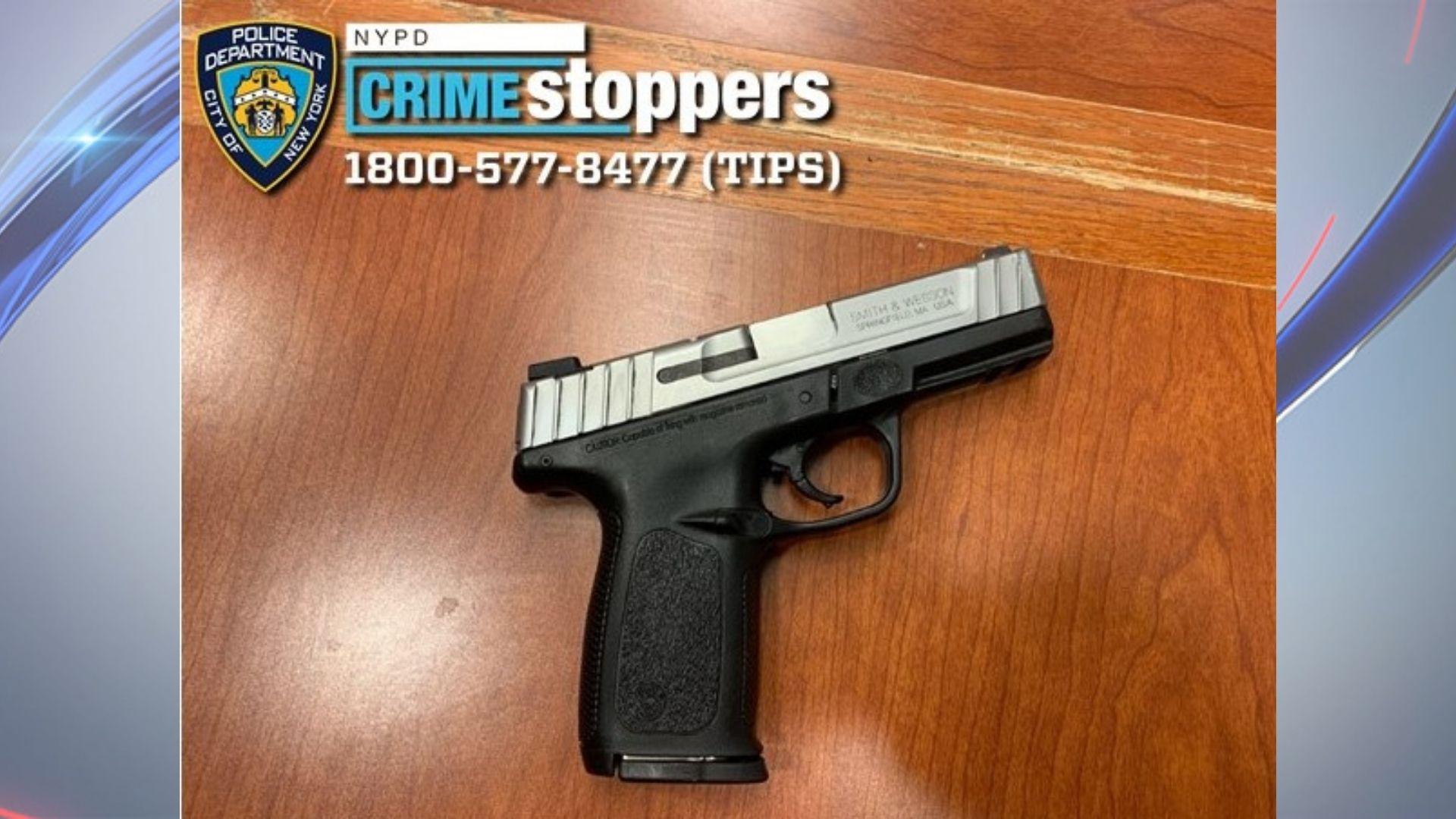 bronx officer shot weapon