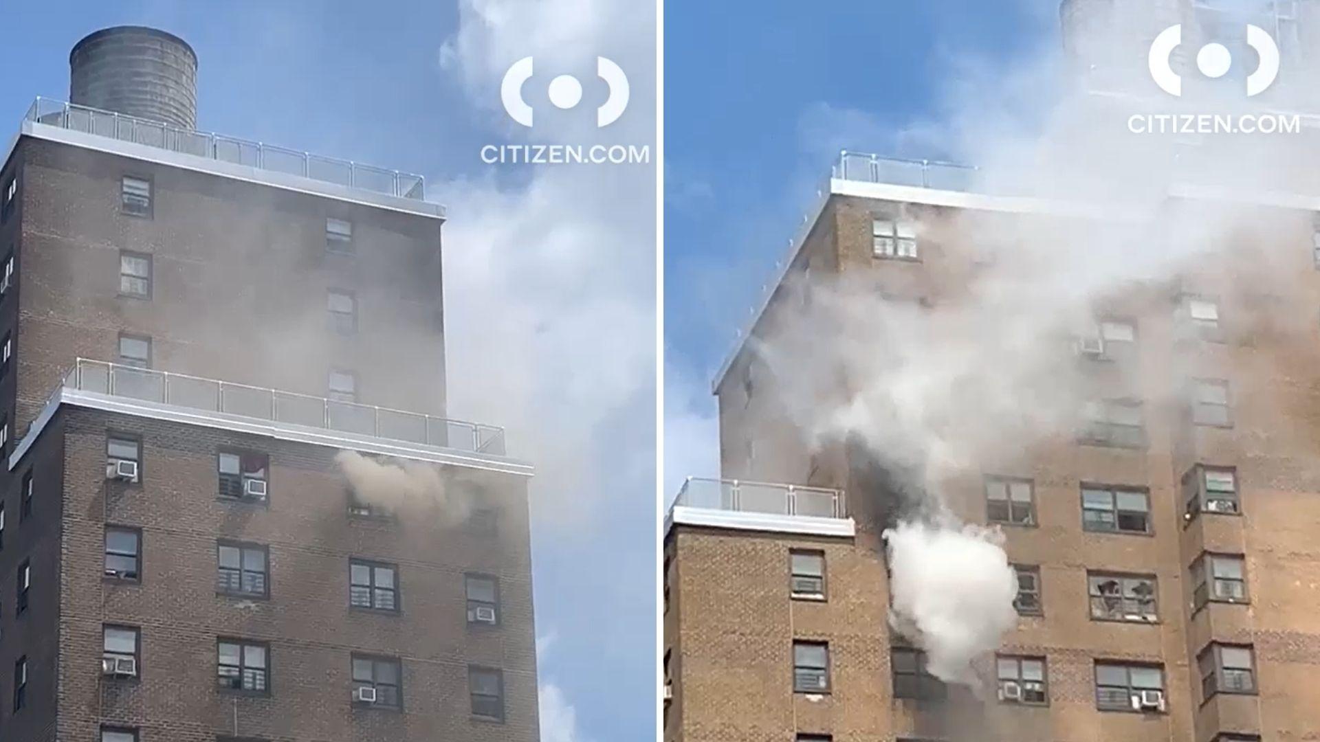 Bronx NYCHA fire