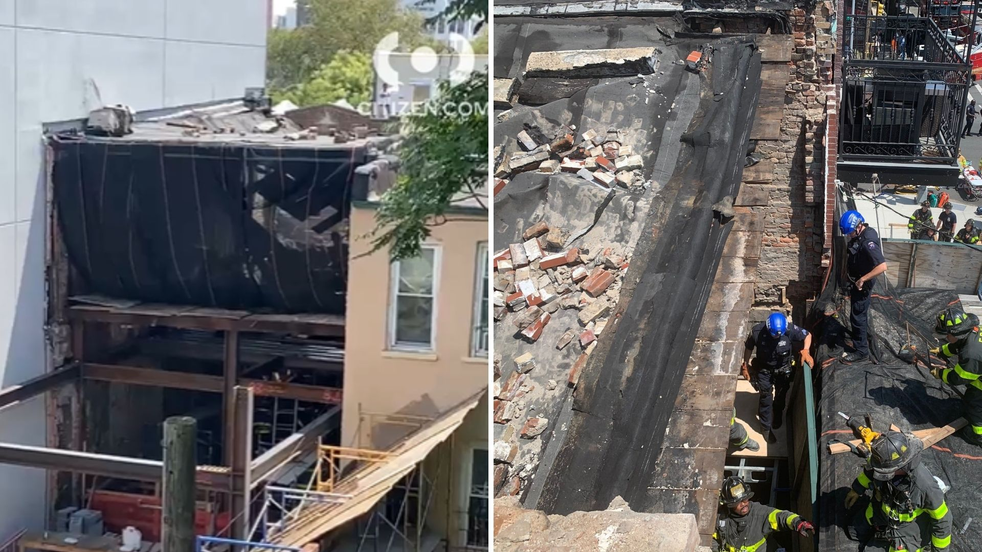 Brooklyn roof collapse