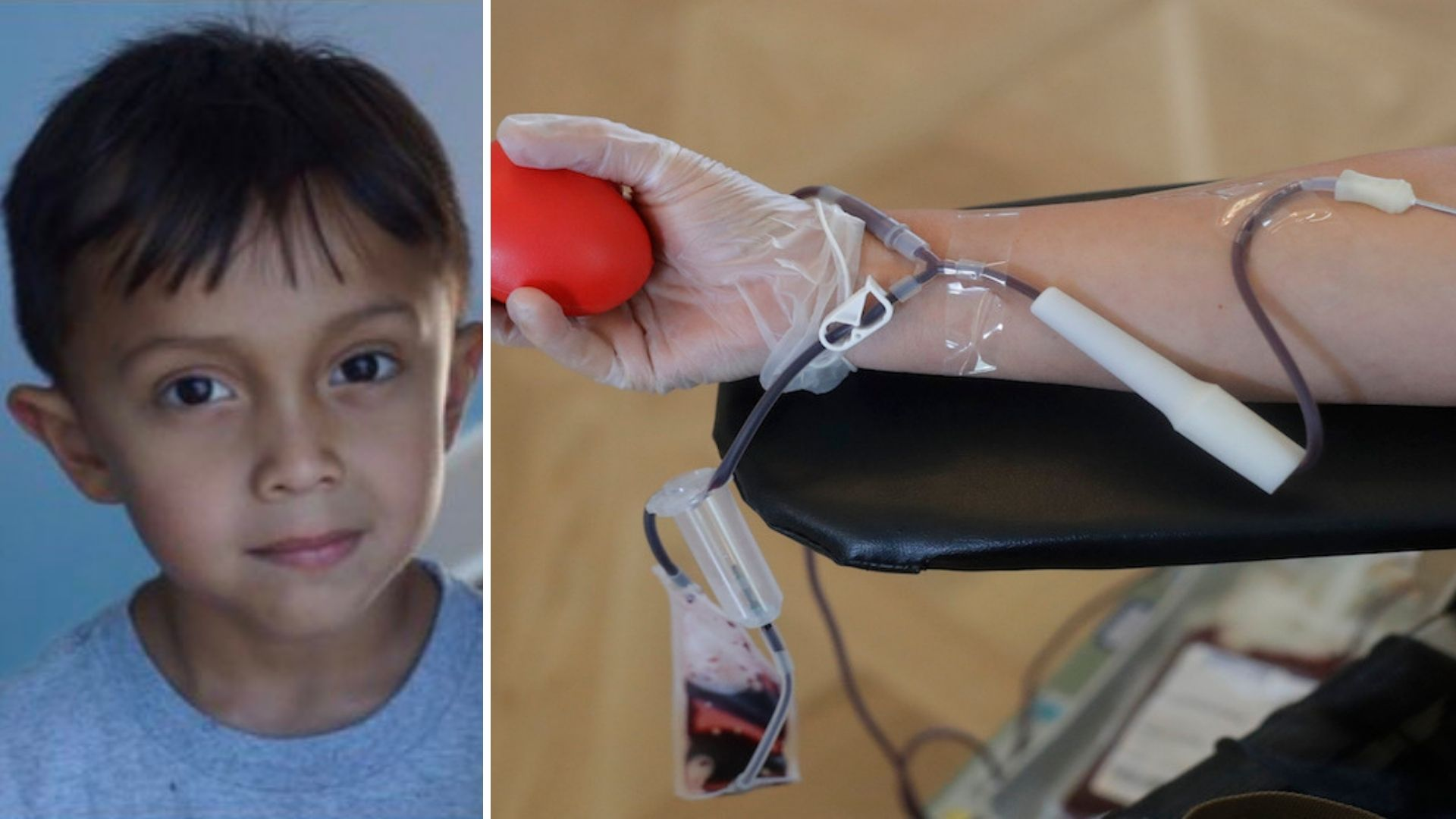 Blood drive for 4-year-old son of NYPD officer with leukemia