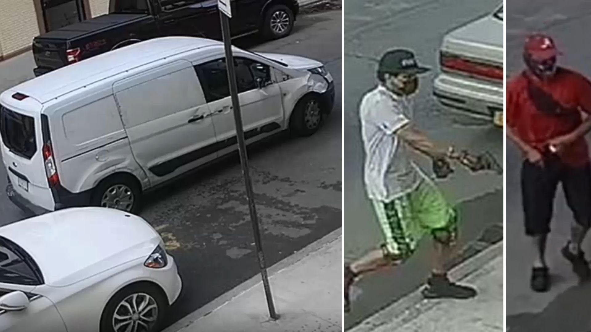 Van and suspects wanted in Bronx robbery