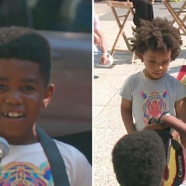 Brooklyn boy Christian Pabon launches streetwear line for kids