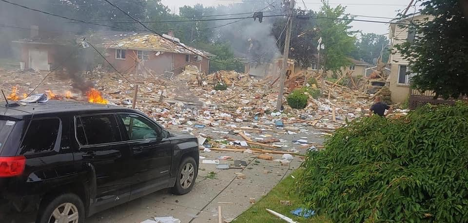 house explosion in upstate New York
