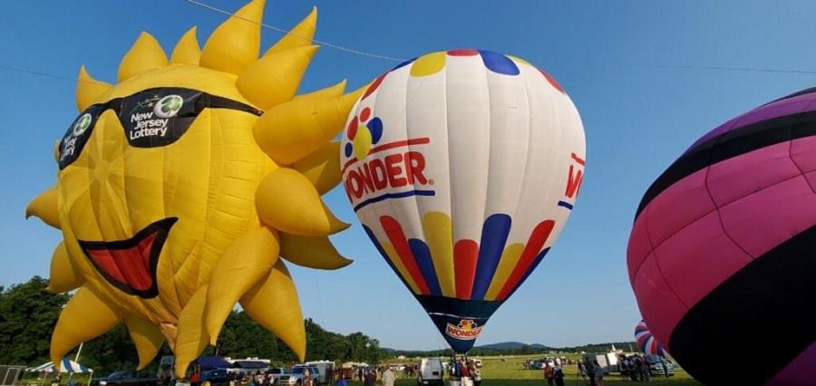 NJ hot air balloon festival