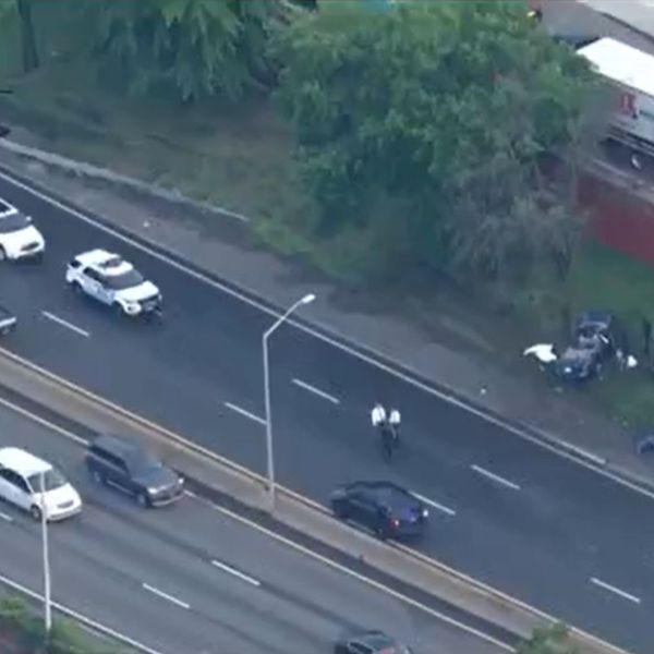 Long Island Expressway deadly crash in Queens