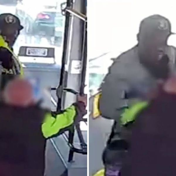 Man pours drink on man's head, punches him on Bronx bus