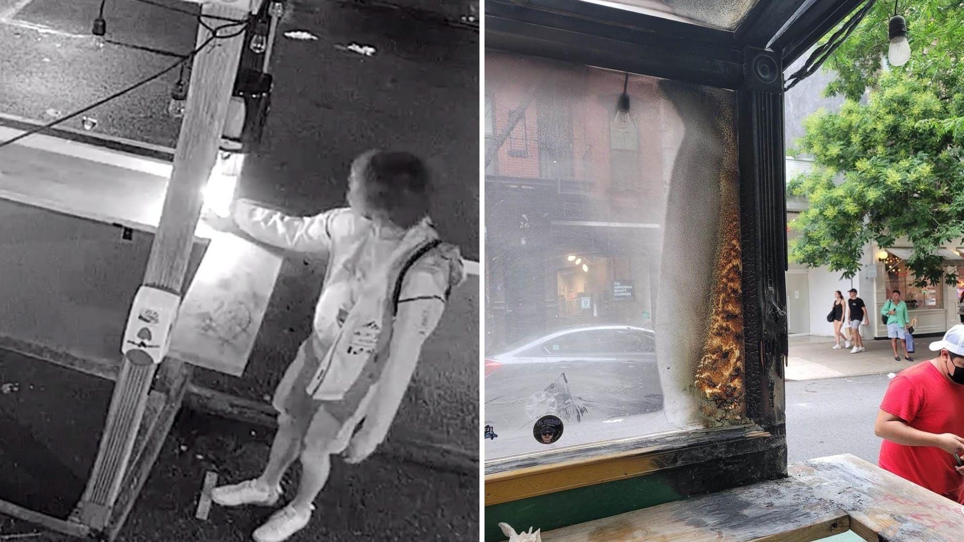 Man arrested in Manhattan arson pattern