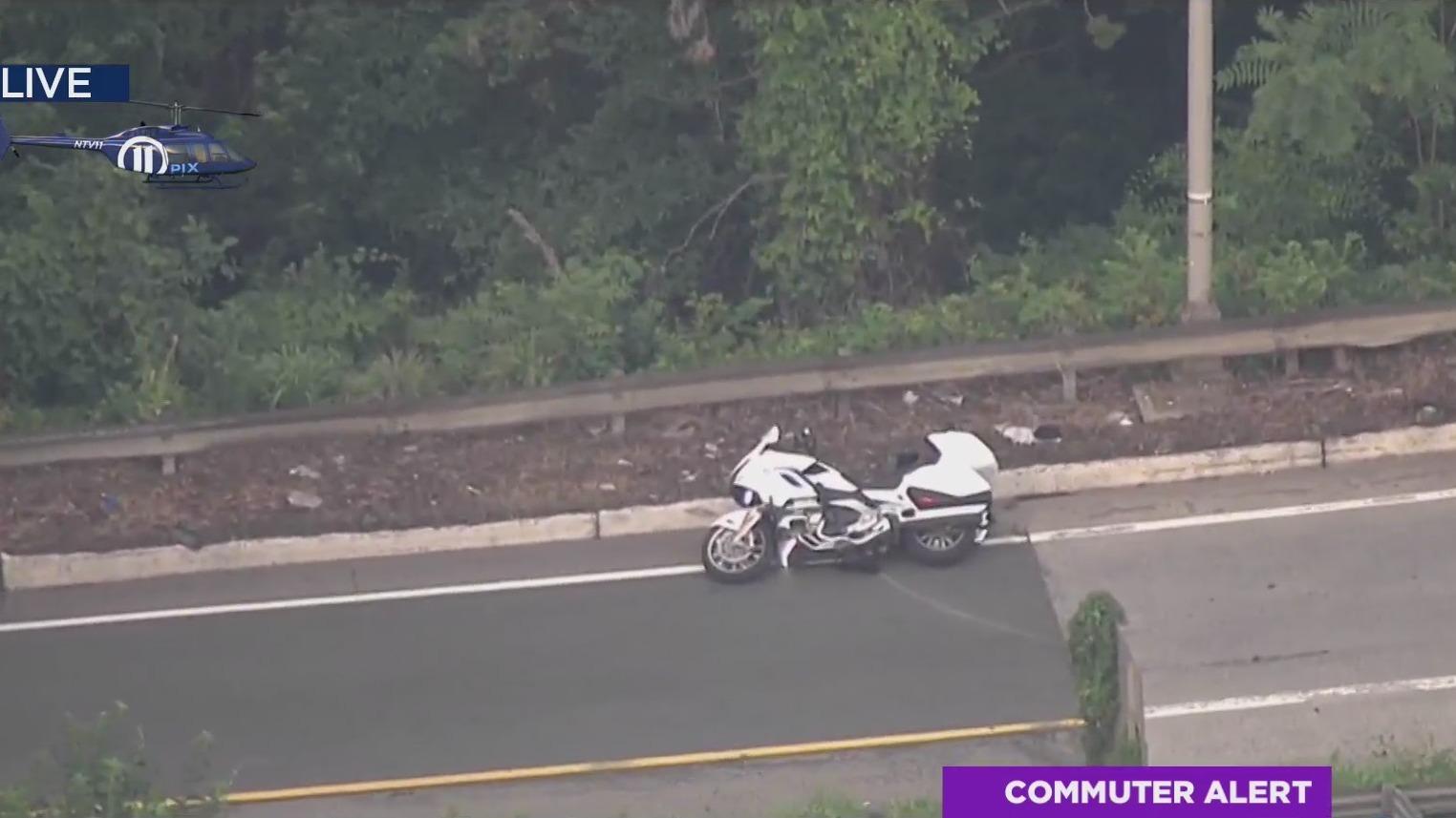 New Jersey motorcycle crash on I-287