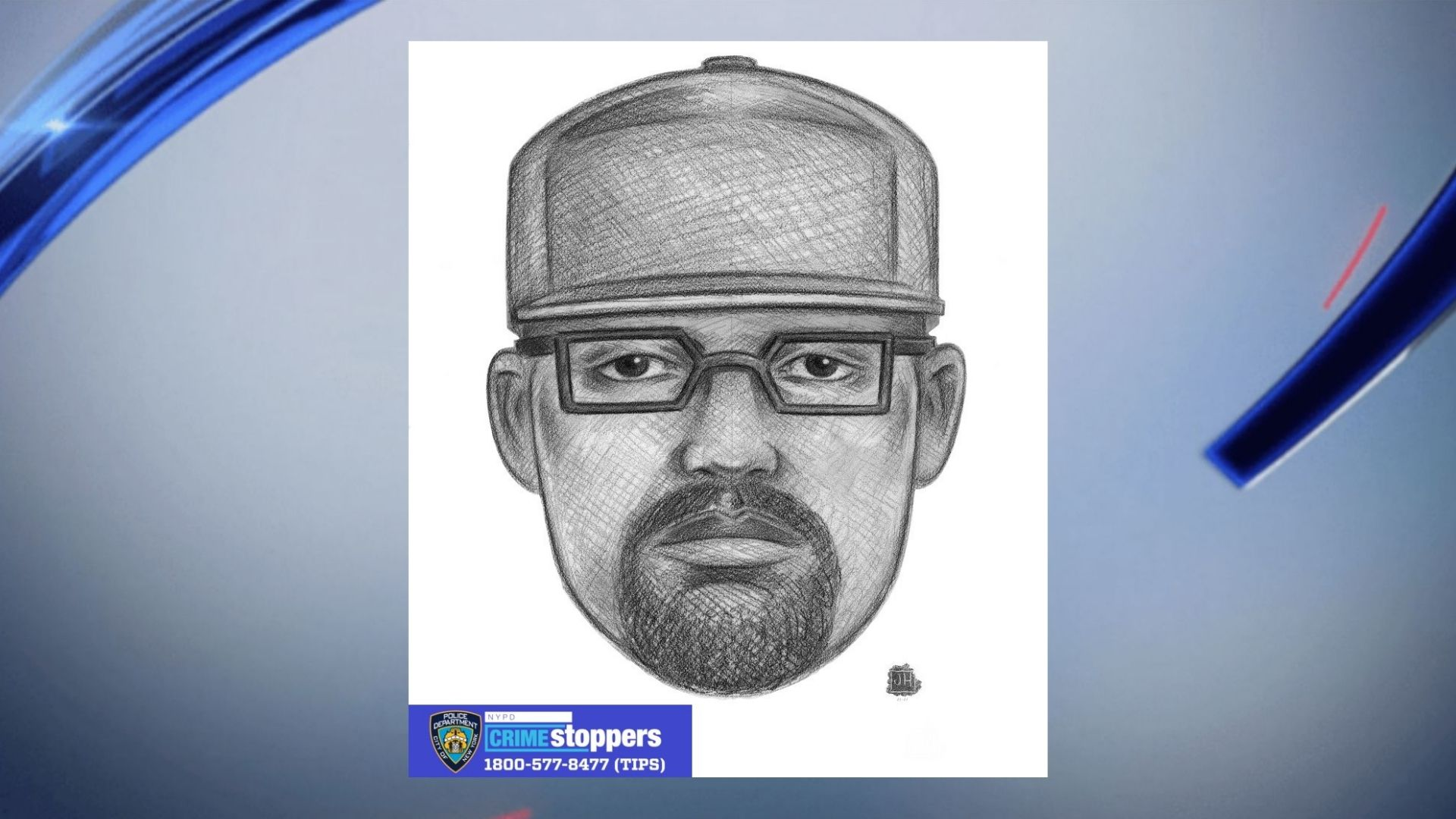 Police sketch of man accused of sexual assault in Prospect Park