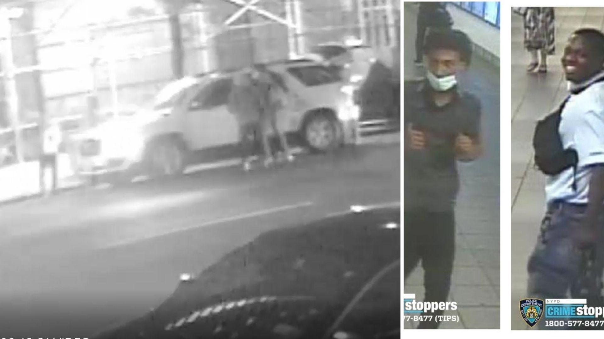 Manhattan SUV theft