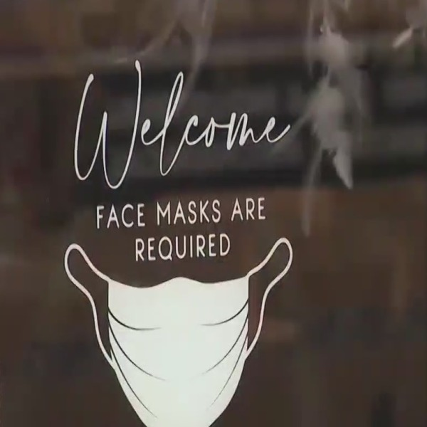 nyc mask mandate store sign