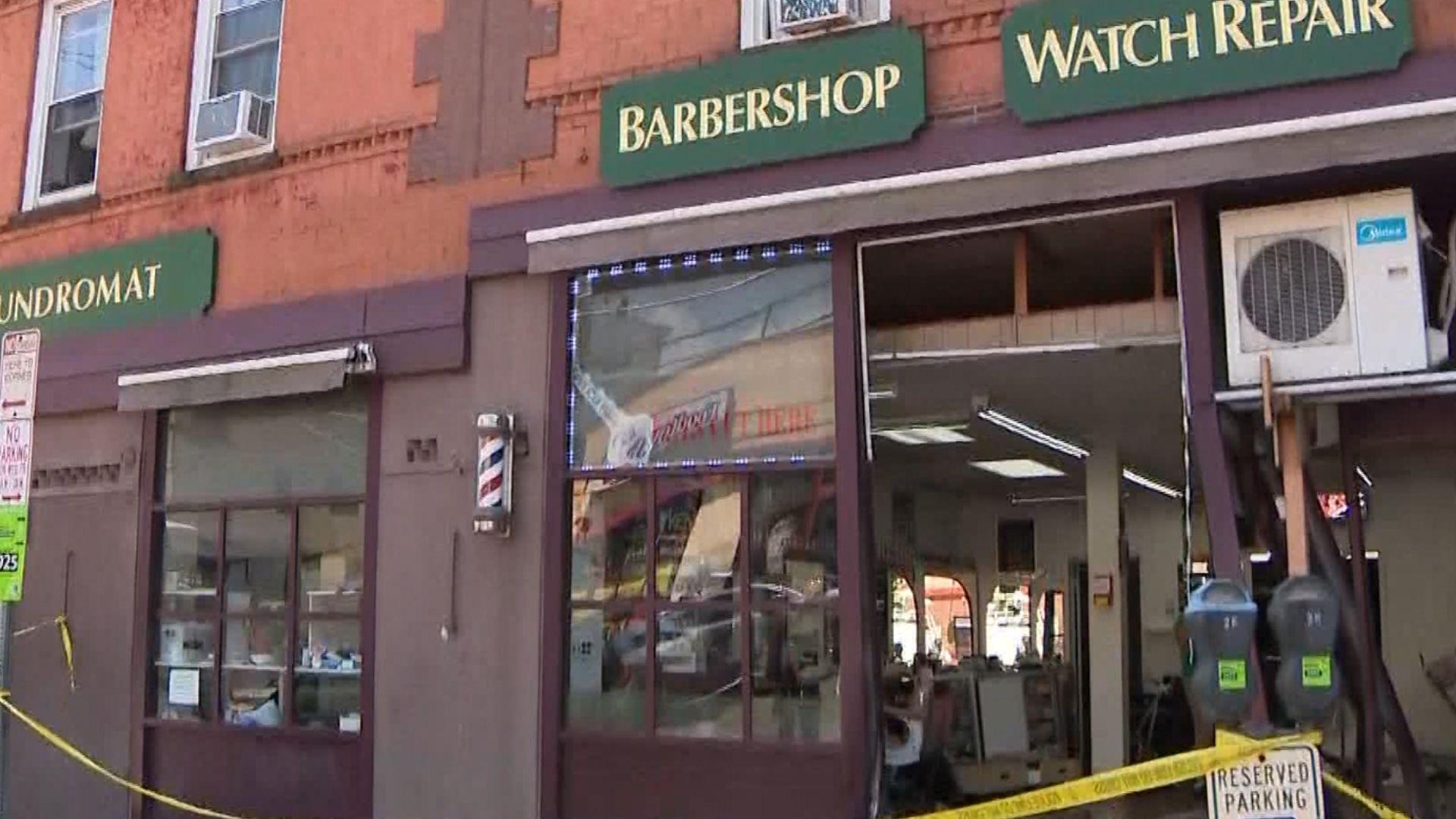 Yonkers Barbershop crash