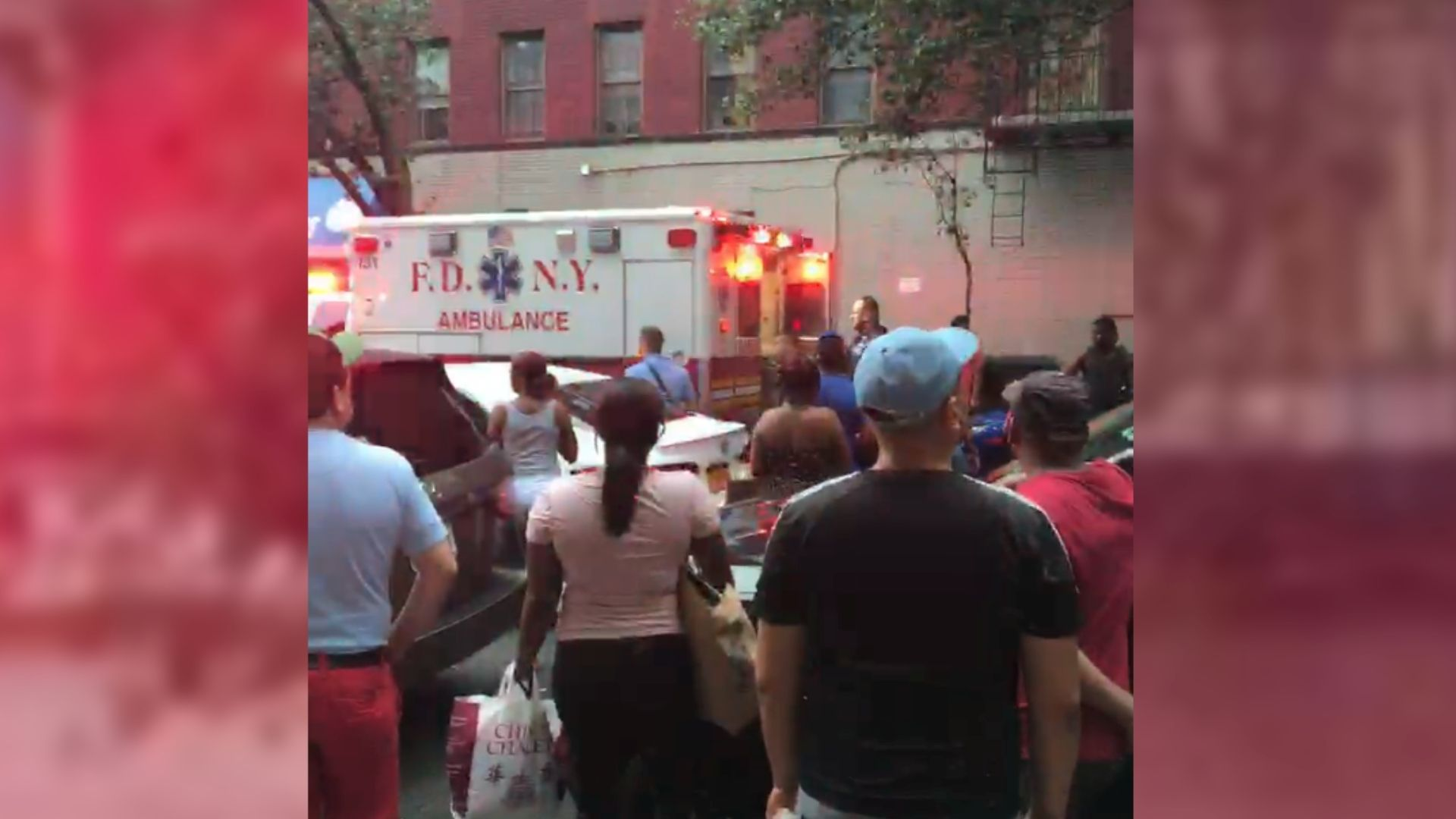 EMS on scene after 20-year-old fatally shot in the Bronx