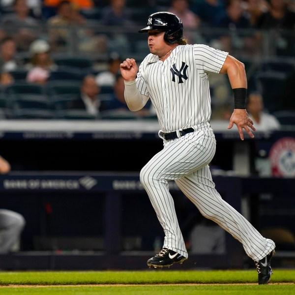 New York Yankees' Luke Voit