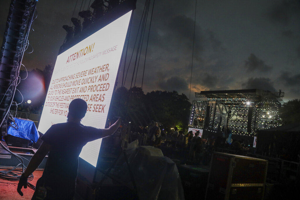 NYC homecoming concert in central park canceled
