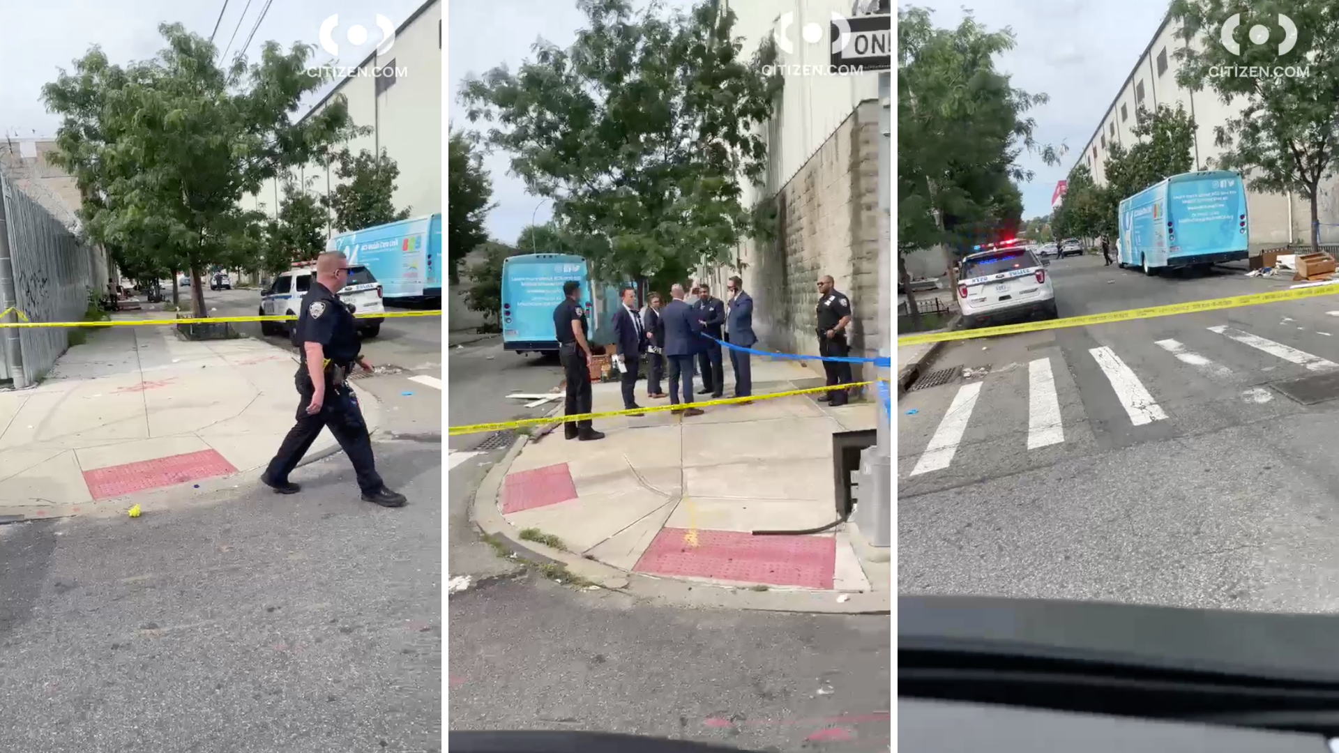 Brooklyn stabbing scene Aug 30
