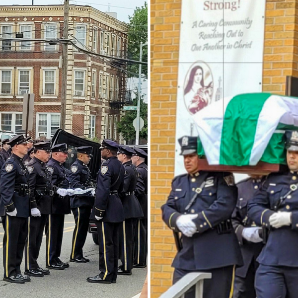 Funeral of NYPD Detective George Moreno