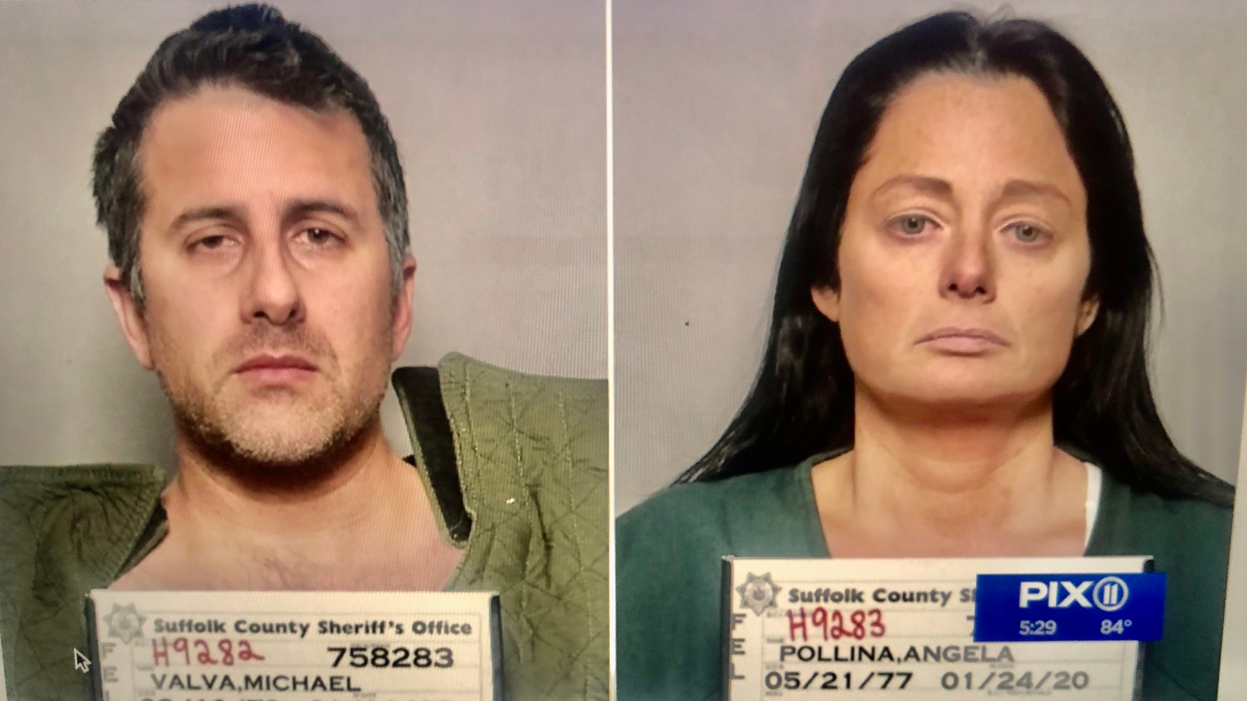 Michael Valva and Angela Pollina