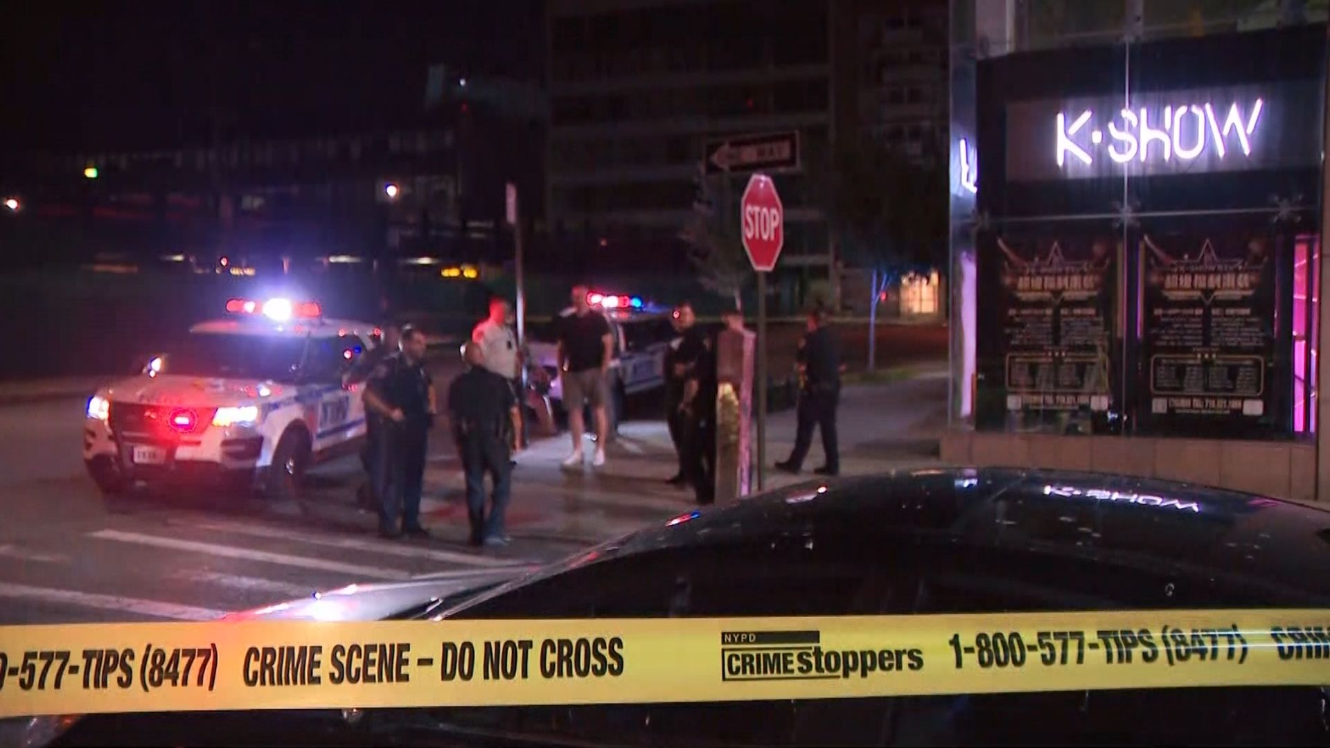 Double shooting at K-Show Lounge in Queens