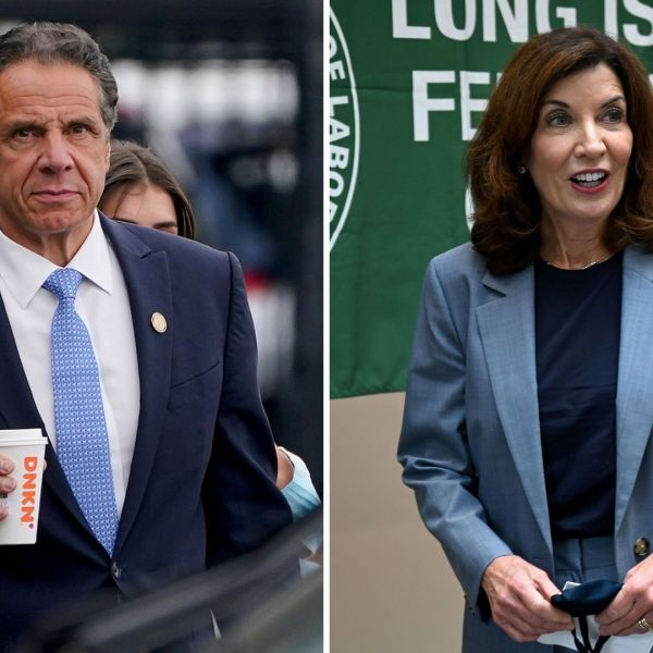 Cuomo exits late Monday as Hochul takes office