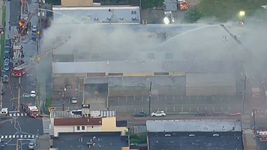 Jersey City acrylic factory fire