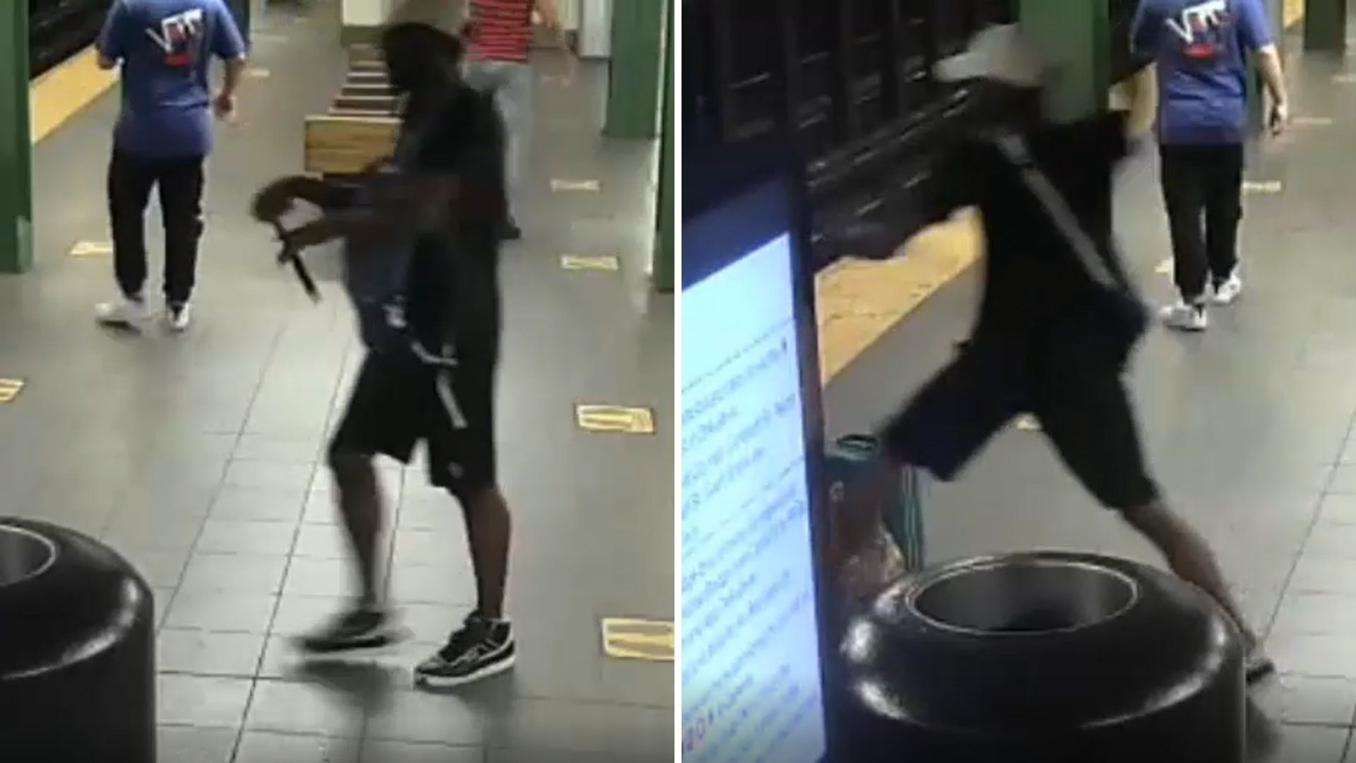 Man attacks another man with hammer in Union Square subway station